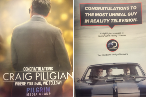 Craig Piligian Featured on Variety's Reality TV Impact Report 2016!